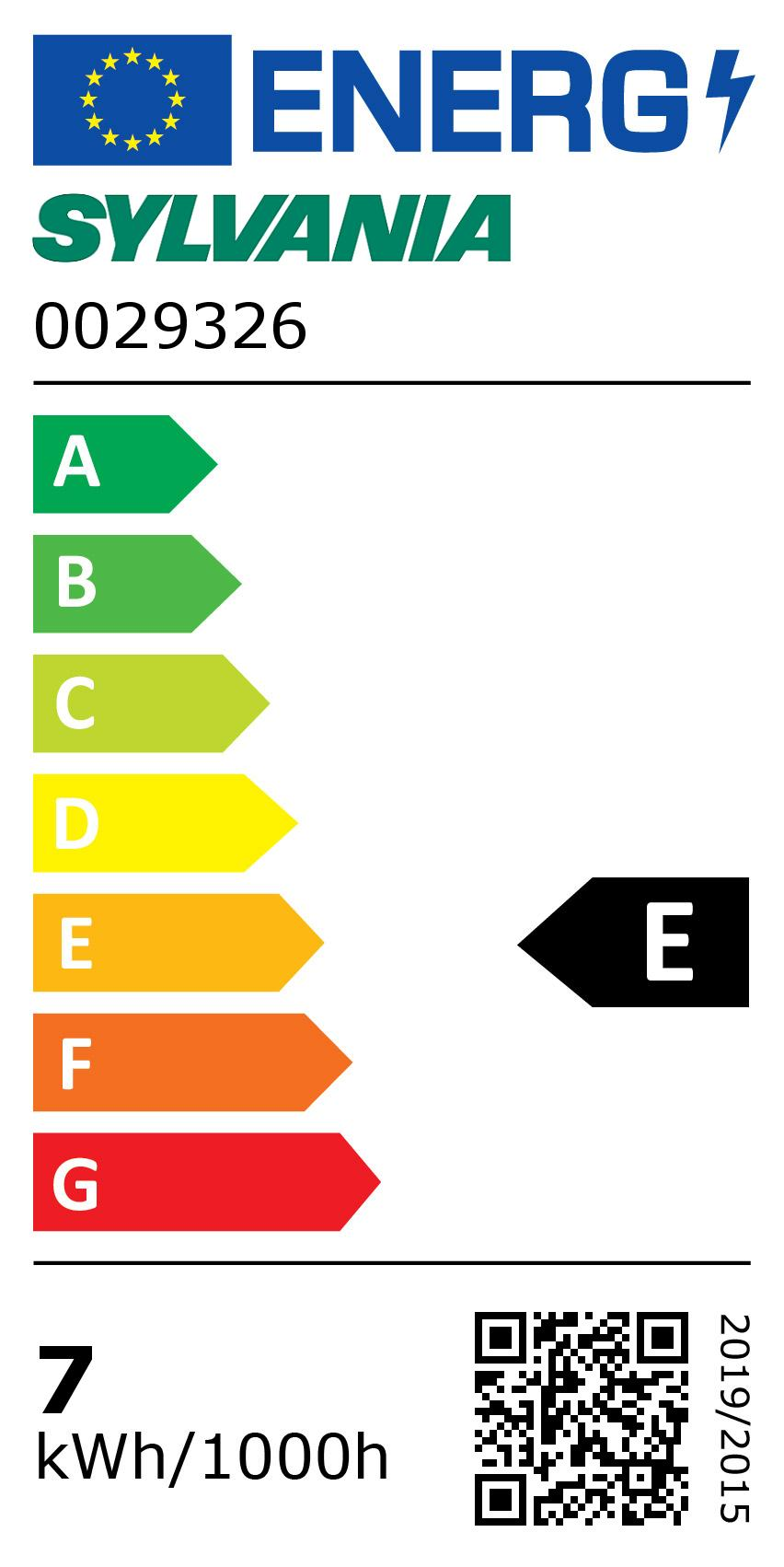 Energy Label for 0029326