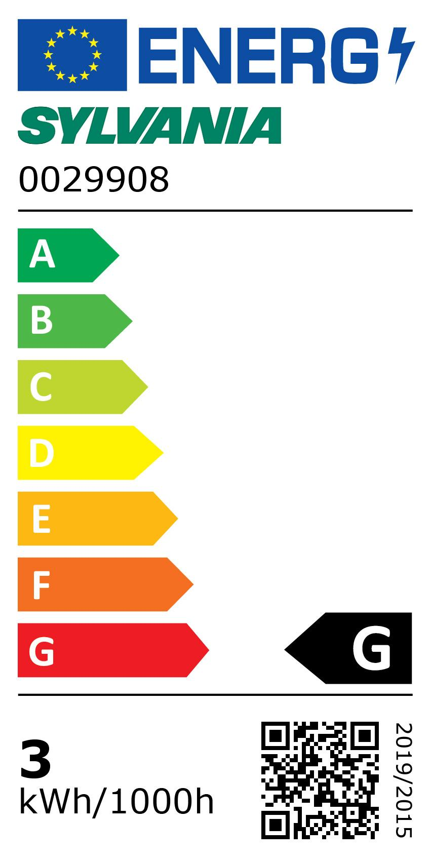 Energy Label for 0029908