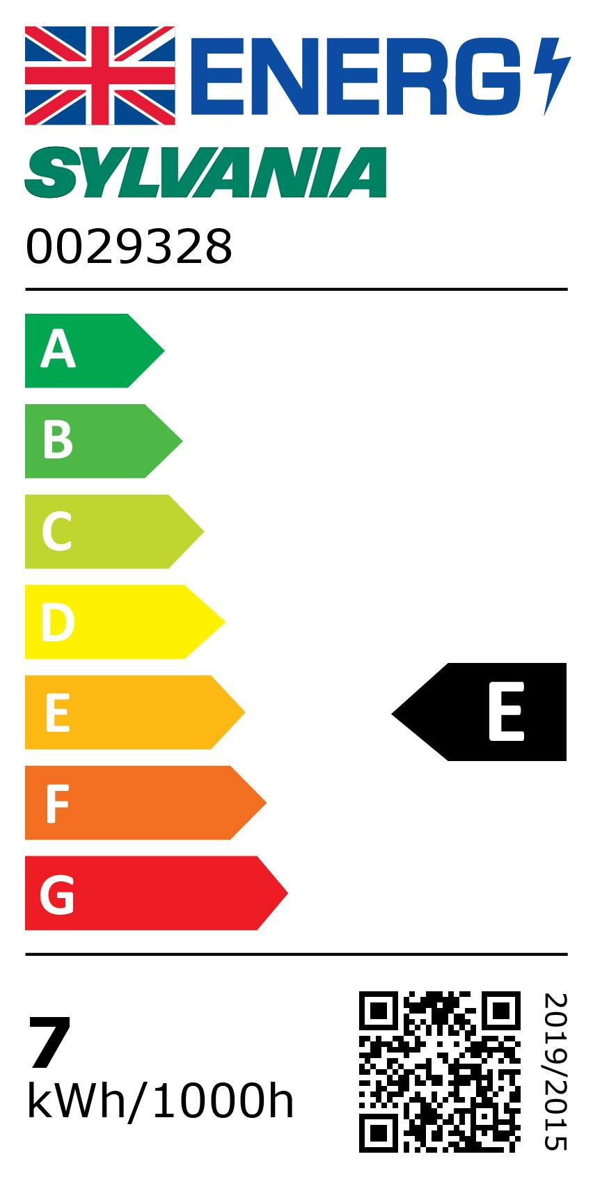Energy Label for 0029328