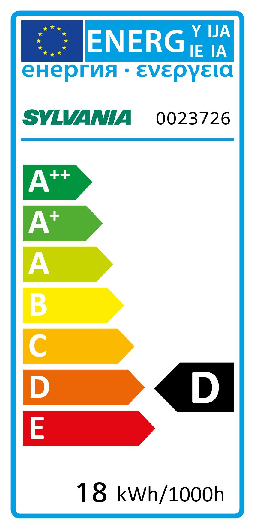 Energy Label for 0023726