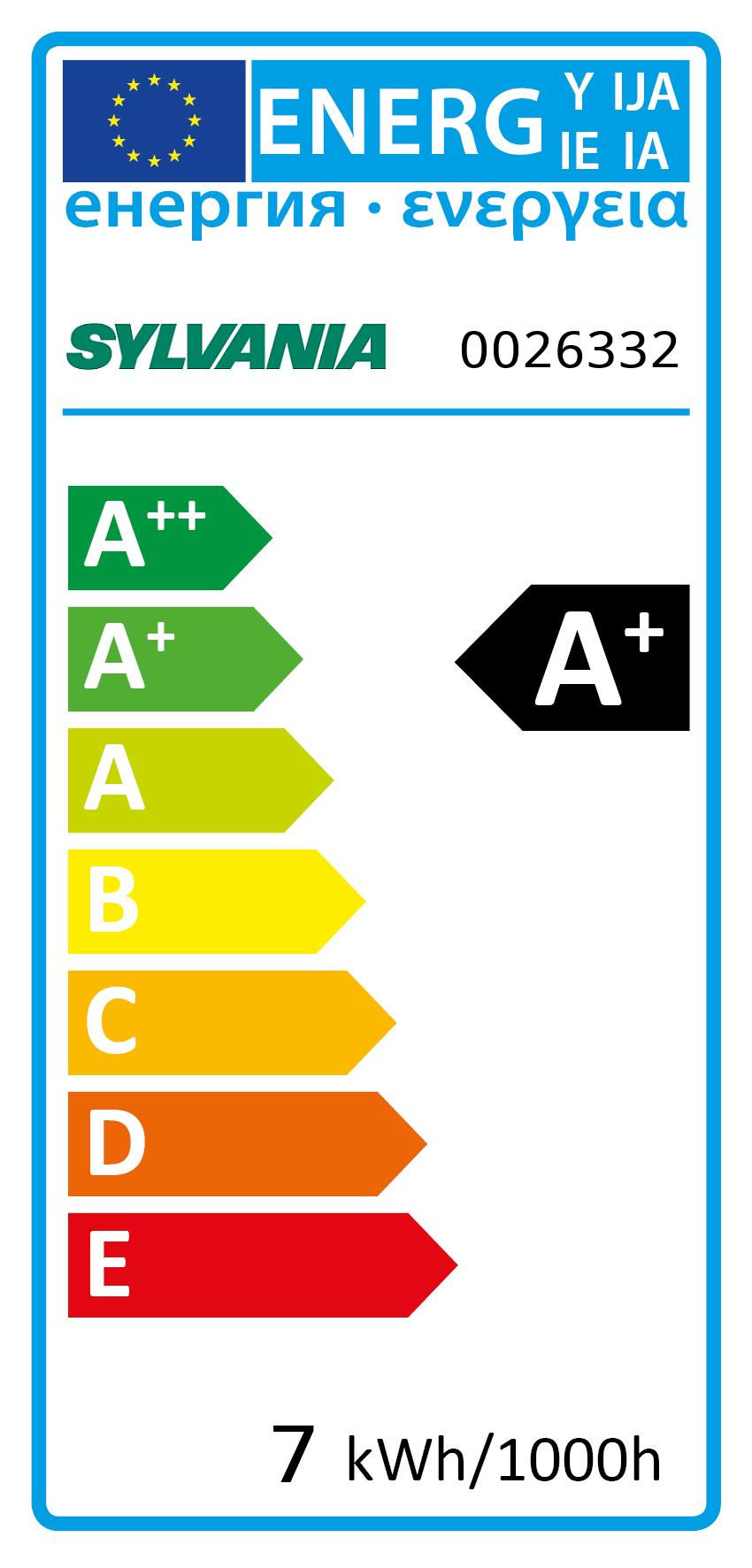 Energy Label for 0026332